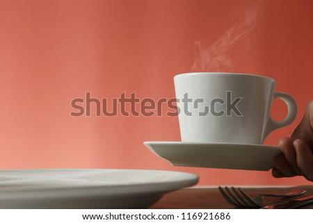 Coffee Service - stock photo