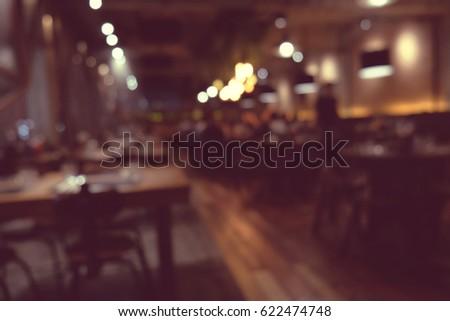 coffee shop blur background...