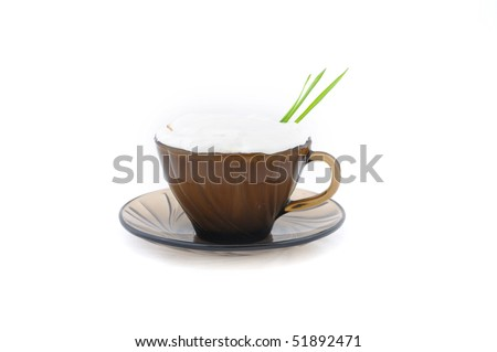 stock-photo-coffee-with-grass-and-whipped-cream-on-white-background-51892471.jpg