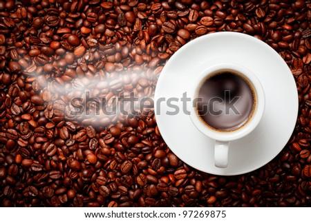coffee ying yang symbol of harmony