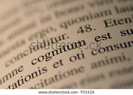Cognitum est
