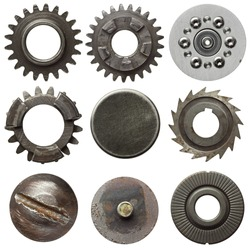 Cogwheels and other metal details