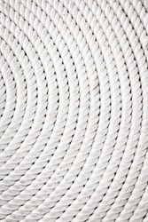 Coil of marine rope