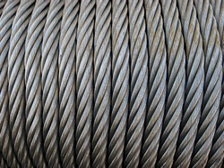 Coil steel wire rope