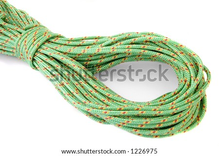 Coiled line, isolated