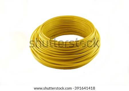 Coils of Color Wires #391641418