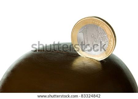 Coin in a coin box