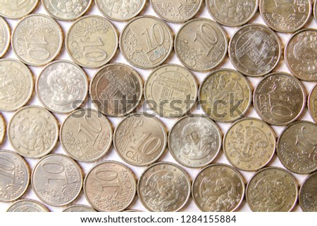 Coin Money Ten Cents Of Euro 1284155884