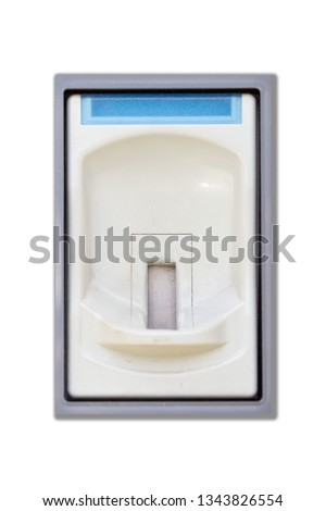 Coin slot Automatic payment dispenser deck