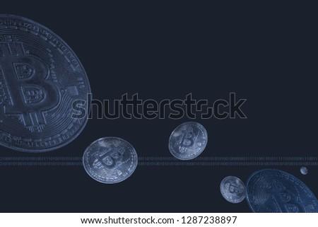 Coins Bitcoin, virtual interfaces #1287238897