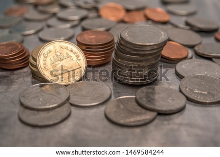 Coins for Thailand,legel money Thailand Stock fotó ©