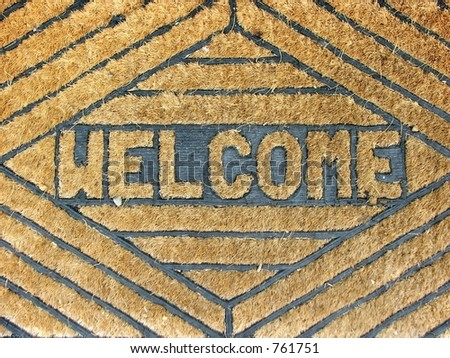 Coir(Coconut fiber) welcome mat