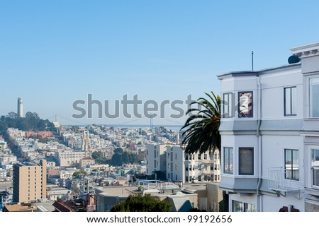 Coit Tower and San Francisco