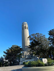 Coit tower in San Francisco Ca.