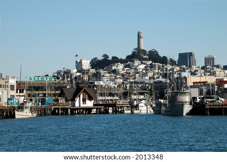 Coit Tower Skyline