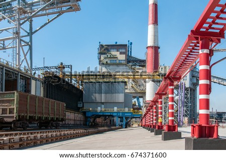 coke oven plant outside