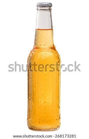 Cold and Refreshing Bottle of Beer #268173281