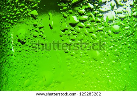 cold beer bottle background