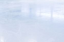 COLD LIGHT BACKGROUND, SMOOTH ICE GLOSSY SURFACE