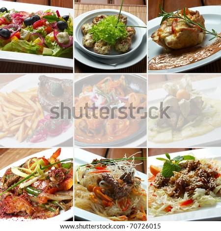 collage bar food