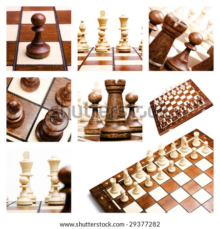 Collage of chess.