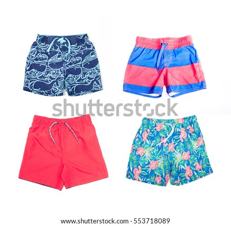 Collage of different shorts for boys #553718089