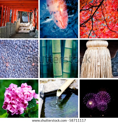 Collage of Japan