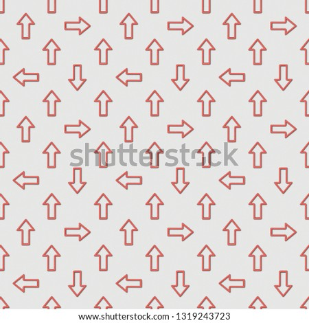 collage of seamless background pattern with red pointers on grey background  #1319243723
