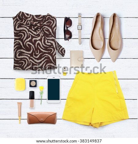 collage of women\'s clothing