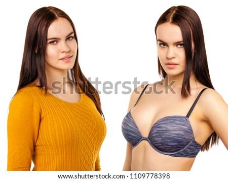 Hot tits model