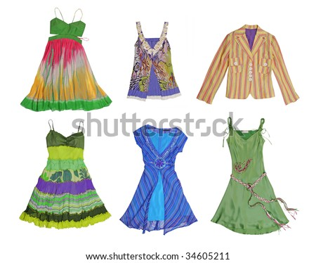 collection color dress