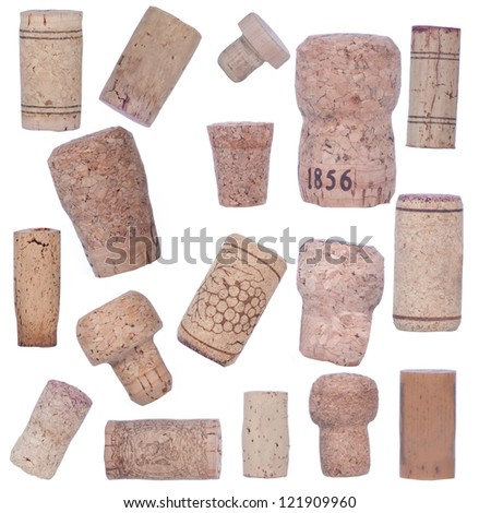 Collection of bottle corks