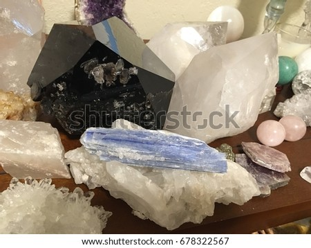 Collection of Crystals #678322567
