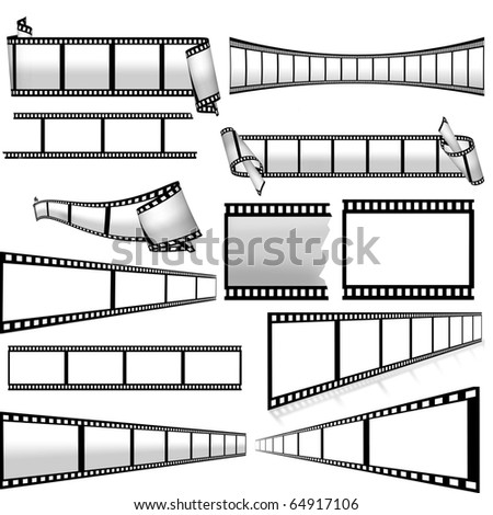 collection of film strip
