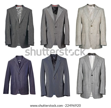 collection of man jacket