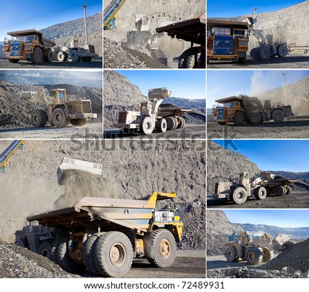 collection of mining work pictures