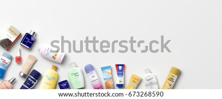 collection of personal care...