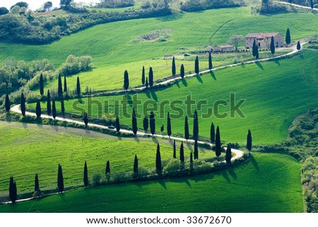collection of pictures of tuscany