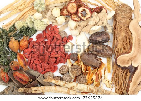 Collection of traditional Chinese medicine