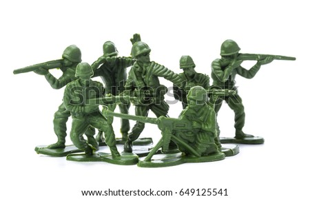 Collection of traditional toy soldiers #649125541