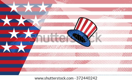 Collection Of United States Of America Copy Space Background
