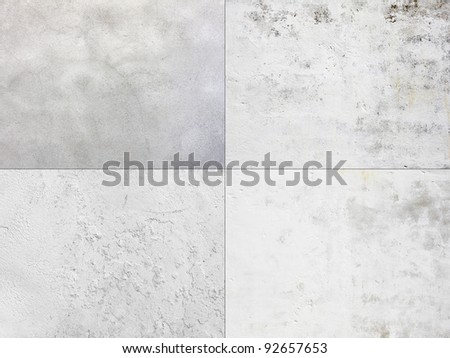 collection of white textured wall