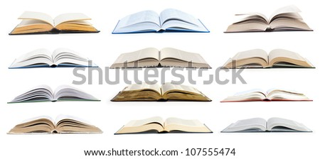 collection open book