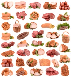 collection sausage products