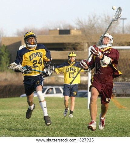 College Lacrosse Players