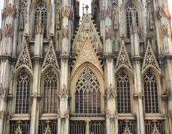 Cologne Cathedral, famous German church