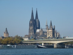 Cologne Cathedral, Hohe Domkirche St. Peter und Maria, Cologne (German: Köln) is Germany's fourth-largest city (after Berlin, Hamburg and Munich)