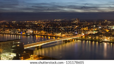 cologne city Deutzer bridge
