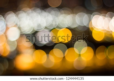 cologne city night blur background