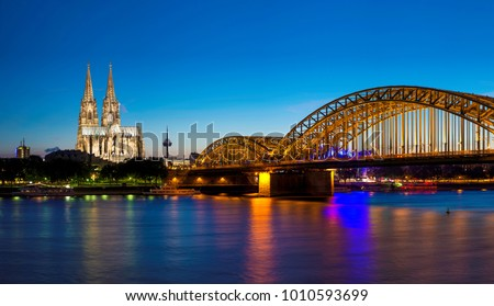 Cologne Cityscape, Germany #1010593699